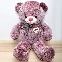 Purple Teddy Bear: