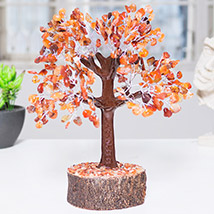 Handcrafted Agate Stone Wish Tree: Home Decor Items