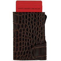 Brown Card Holder Cum Wallet: Leather Wallet