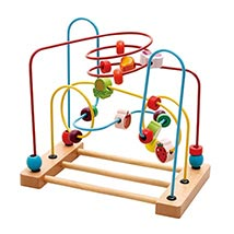 Educational Beech Fruit Beads Toy: Wooden Toys
