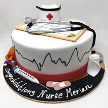 Happy Graduation Doctor Cake: Graduation Theme Cakes
