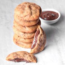 Nutella Stuffed Cookies: Cookies in Dubai