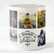 Being a Grandparent Personalised Mug: Grandparents Day Gifts
