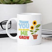 Expressing Gratitude Mug: Teachers Day Gifts