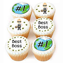 Best Boss in World Cupcakes: Boss Day Gifts