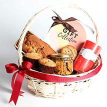 Grand Teatime Goodies Gift Basket: Birthday Gift Hampers