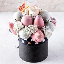 Mini Chocolate Edible Bouquet: Chocolates For Anniversary