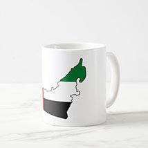 Printed UAE Map Mug: UAE National Day Gifts
