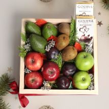 Natures Delight Fruit Tray: Fathers Day Hampers