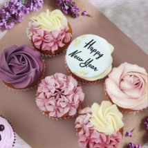 Yummy New Year Cupcakes: New Year Gifts