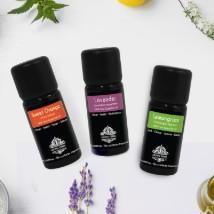 Lavender Sweet Orange and Lemongrass Essential Oils Combo: