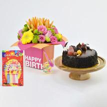 Special Birthday Surprise: Birthday Flowers & Cakes