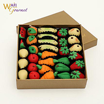 Box of Marzipan Fruits Shaped Sweets 825g:  Sweets Delivery