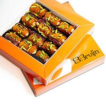 Dried Mango Peel Dates Box: Arabic Sweets