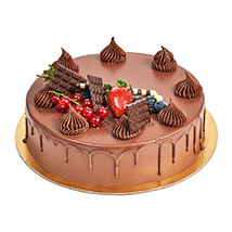 4 Portion Fudge Cake: Gifts Delivery in Abu Dhabi