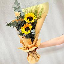 Bouquet Of Sunshine:  Sunflower Bouquets