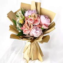 Pink Elegance Bouquet: