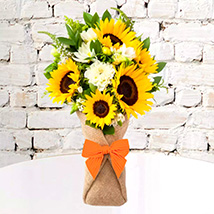 Sunflower Galore Bunch: Mixed Flowers