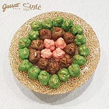 Garrett Gold Assorted Bonbons Round Tray 30 Bonbons: