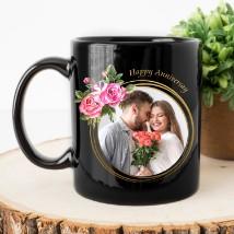 Anniversary Personalised Magic Mug: Personalised Anniversary Gifts