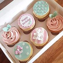 Birthday Decorated Cupcakes: Cupcakes Dubai