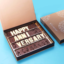 Happy Anniversary Chocolate: Buy Anniversary Chocolates