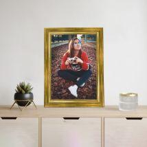 Personalised Gold Photo Frame: Personalised Photo Frames