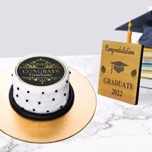 Graduation mono Cake n Plaque: Graduation Gift Ideas