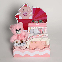 Little Angel Girl Hamper: Newborn Baby Gifts