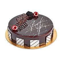 Chocolate Truffle Birthday Cake: Chocolate Cake