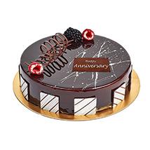 Half Kg Truffle Cake For Anniversary: Wedding Anniversary Cake