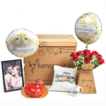 Surprise Anniversary Wishes Box: Personalised Combos