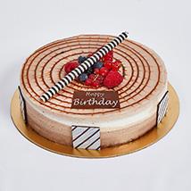 Half Kg Triple Chocolate Cake For Birthday: Birthday Cakes