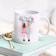 Girl U Are My Best Friend: Friendship Day Mugs