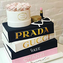 3D Luxurious Brands Cake: Unique Gifts