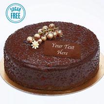 Sugar Free Dark Chocolate Cake: Diabetic Cakes