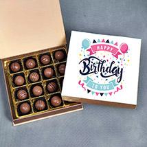 Birthday Wishes Chocolate Box: Best Chocolate in Dubai