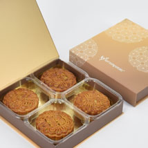 4 Assorted Mooncakes: Mid Autumn Gifts