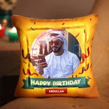 Birthday Personalized LED Cushion: Personalised Cushions
