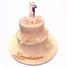 From Now To Eternity Cake: Wedding Cake