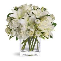 White Beauty: Flower Wreath