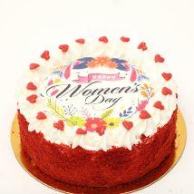 Womens Day Red Velvet Cake 500gm: