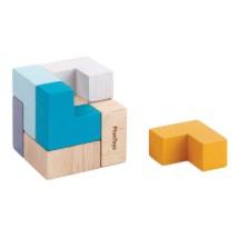 Wooden 3D Puzzle Cube: