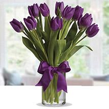 Purple Tulip Arrangement PH: Flower Delivery in Philippines