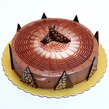 Rich Cappuccino Cake: Send Gifts to Qatar