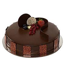 1kg Chocolate Truffle Cake SA: Send Gifts to Saudi Arabia