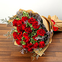 Bouquet Of 20 Red Roses SA: Saudi Arabia Gift Delivery