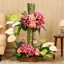 Layers Of Flowers: Send Flowers to Saudi Arabia