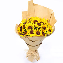 Sunny Hill 20 Sunflowers Bouquet SG: Florist Singapore
