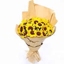 Sunny Hill 20 Sunflowers Bouquet SG: Florist Singapore